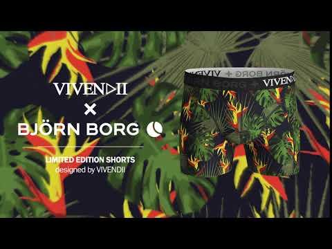 Vivendii x Björn Borg - Tropicality
