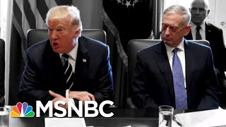Trump Reportedly Called Generals 'Dopes And Babies' While Berating Them | The 11th Hour | MSNBC