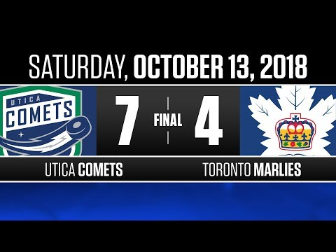 Comets vs. Marlies | Oct. 13, 2018