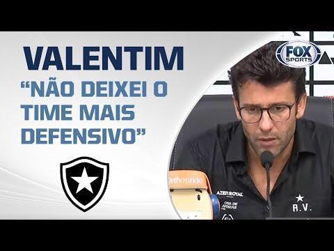 DERROTA DO GLORIOSO! Botafogo perde em casa para o Inter; veja entrevista de Valentim
