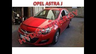 Opel Astra J hidrojen yakıt sistem montajı