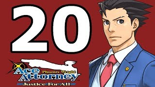 Phoenix Wright Ace Attorney: Justice for All Walkthrough Part 20 - No Commentary Playthrough (3DS)