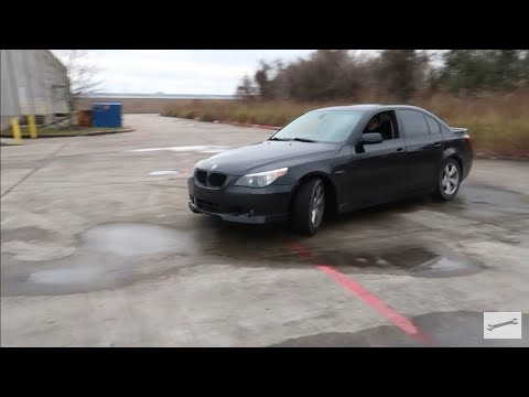 Trying To Drift The All Wheel Drive BMW 530XI