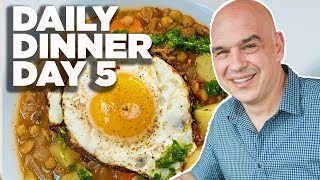 Cook Along With Michael Symon   Lentil And Potato Stew   Daily Dinner Day 5