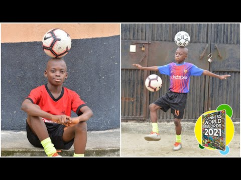 Little Kid Sets Football Record with Ease