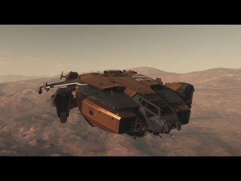 Star Citizen : Gamelay de la CitizenCon : planète Hurston, achat de vaisseaux, combat