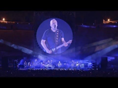 David Gilmour Shine On You Crazy Diamond   Pompeii 2016