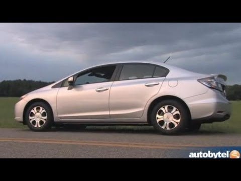 2013 Honda Civic Hybrid Video Review