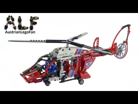 Vidéo LEGO Technic 8068 : L'hélicoptère de secours