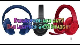 Logitech G433 Gaming Headset - Test: Ungewöhnliches Design trifft auf tolle Technik