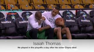 NBA most emotional moments
