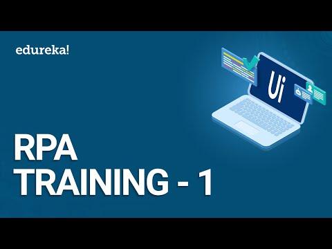 RPA Training - 1 | RPA Tutorial for Beginners | UiPath Training ...