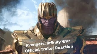 Avengers Infinity War Official Trailer reaction is here Trailer: https://goo.gl/Jef5Pp Amazon Store: https://www.amazon.com/shop/booredatworkcom Subscribe to Booredatwork - http://bit.ly/Subscr...
