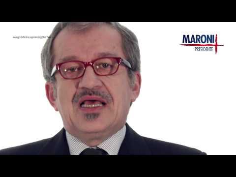 """Maroni e lo spot """"La mia Lombardia"""""""