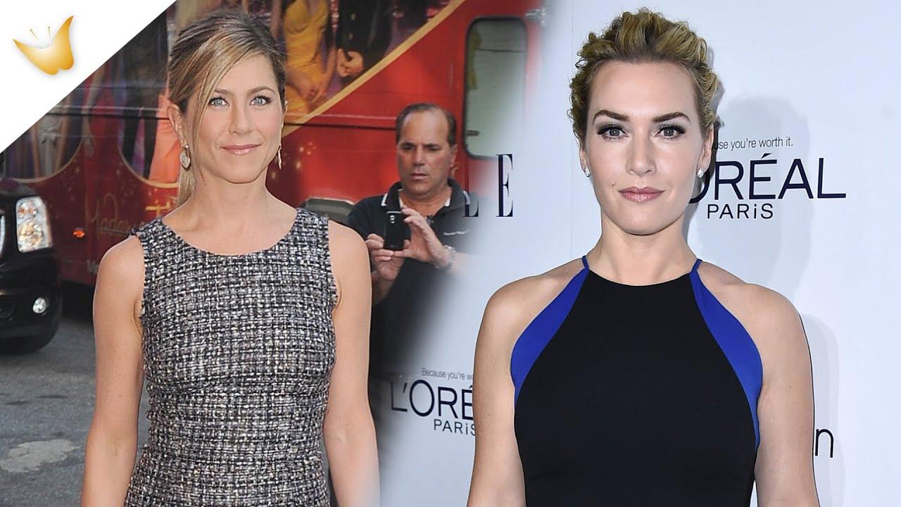 Jennifer Aniston, Kate Winslet: looks de Navidad para triunfar