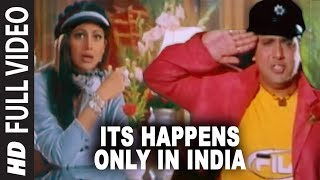 Its Happens Only In India Full Song | Pardesi Babu | Govinda, Shilpa Shetty