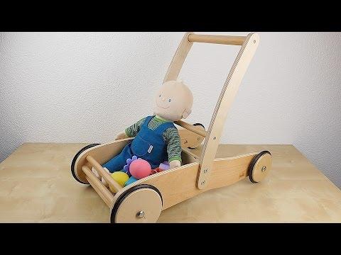 """Pinolino Lauflernwagen """"Uli"""" aus Holz // Test // Review // Erfahrungsbericht (DEUTSCH)"""