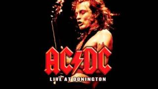 AC/DC - Hell Ain't A Bad Place To Be Live backing track (lead guitar)