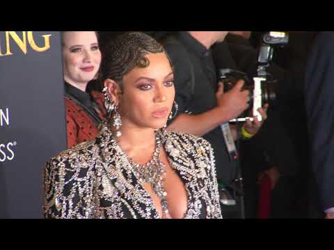 Beyonce The Lion King Red Carpet Premiere