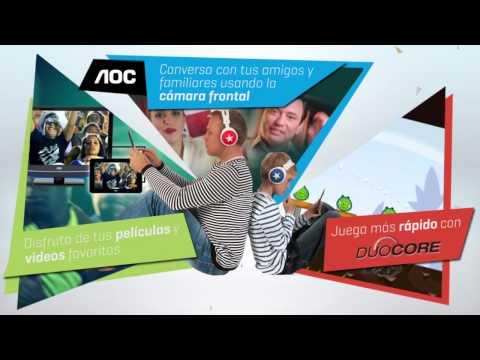 AOC's Breeze Tablet - Duo Core