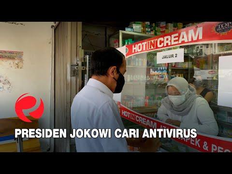 Presiden Jokowi Cari Antivirus