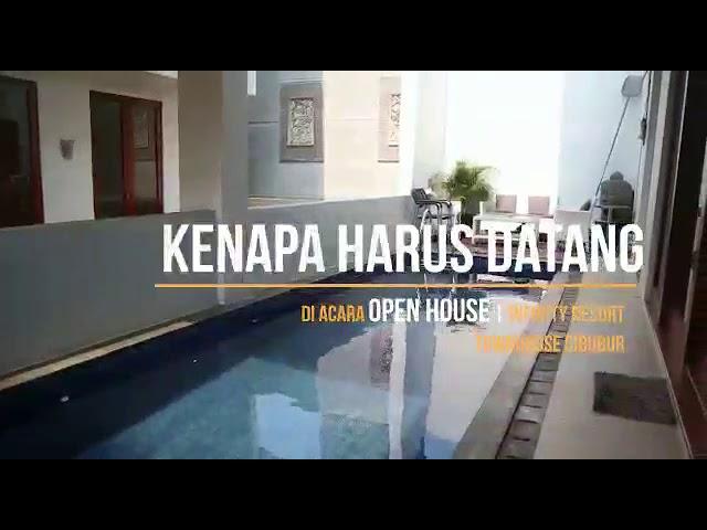Infinity Resort Townhouses cibubur type 180 Swimming pool
