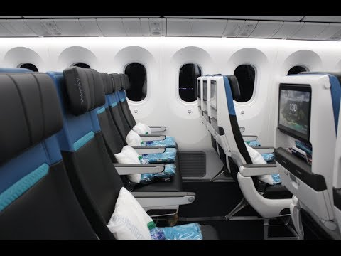 Touring WestJet's first Boeing 787-9 Dreamliner