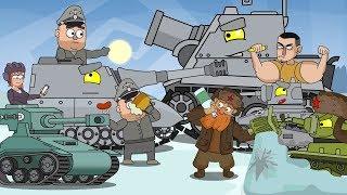 ТОП 7 Мультики про танки