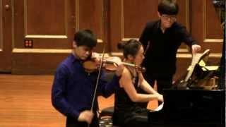 Angelo Xiang Yu and Mei Rui - Chausson Poème, Op. 25