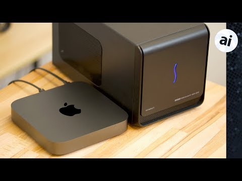 Video: Should you get an eGPU for your new 2018 Mac mini? - Current