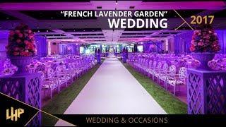 French Lavender Garden Wedding