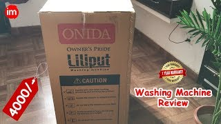 Onida Liliput Washing Machine Review in Hindi | By Ishan - Download this Video in MP3, M4A, WEBM, MP4, 3GP