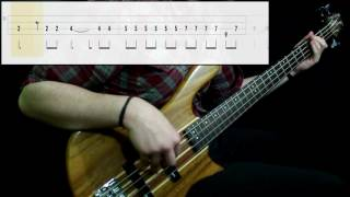Toto   Hold The Line (Bass Cover) (Play Along Tabs In Video)