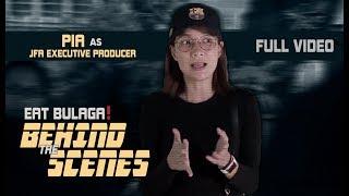 Eat Bulaga BTS | Pia Guanio JFA Executive Producer for A Day ( FULL VIDEO)