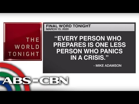 [ABS-CBN]  Final Word – March 15, 2020 | ANC