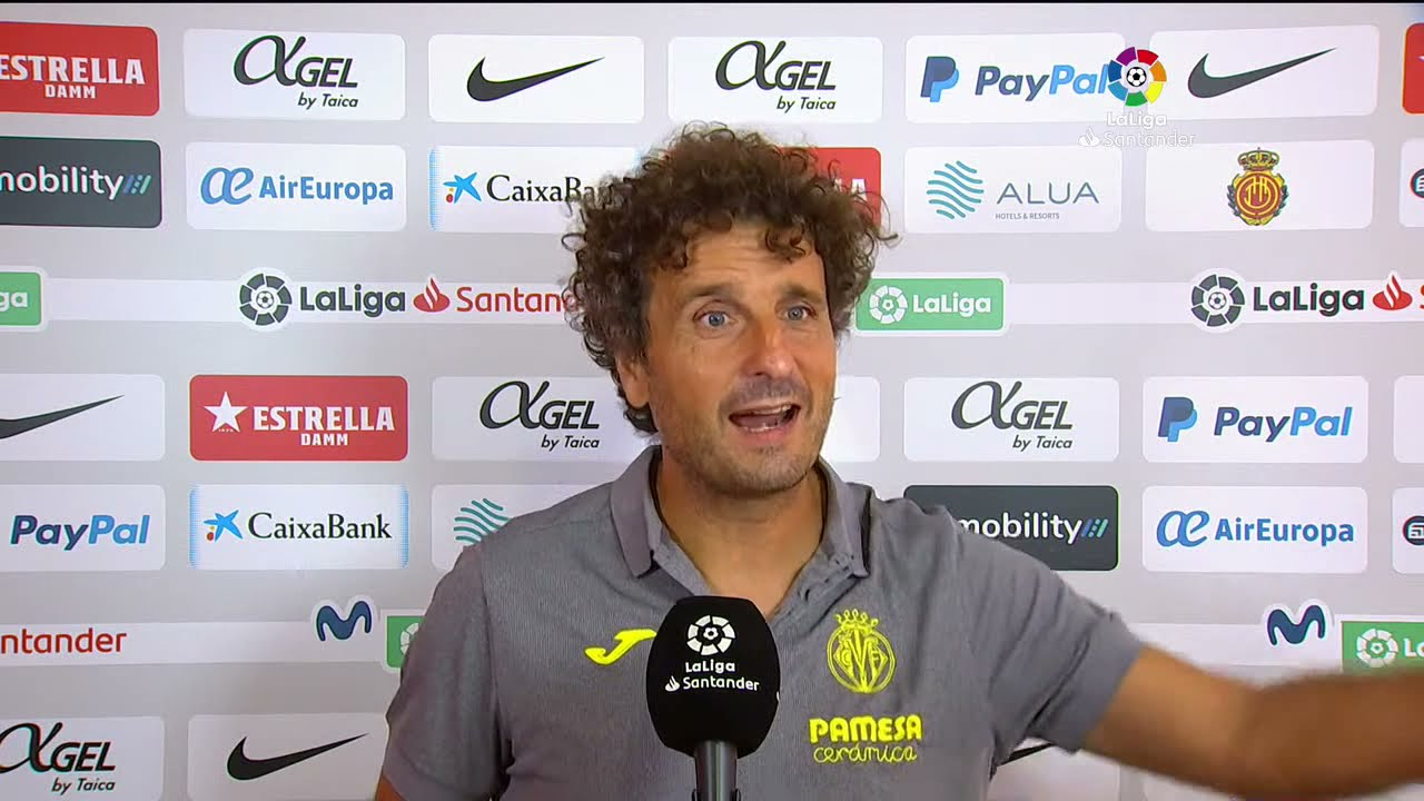 Calentamiento RCD Mallorca vs Villarreal CF