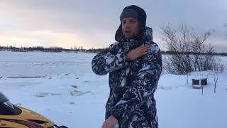 Комбинезоны мужские зимние для рыбалки и охоты