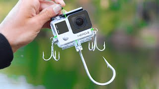 Worlds FIRST GOPRO FISHING LURE! (Actually Works!)