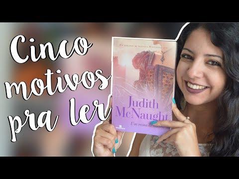 UM REINO DE SONHOS, JUDITH MCNAUGHT | CINCO MOTIVOS PRA LER + PROMOÇÃO | MINHA VIDA LITERÁRIA