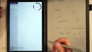 Microsoft Surface Pro 3 vs Sony DPT-S1 Writing Comparison