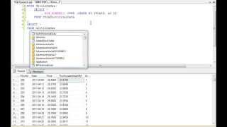 TSQL: Get Last Row of Data In A Table