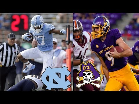 ECU Pirates vs Carolina Tar Heels | 2018 College Football Prediction
