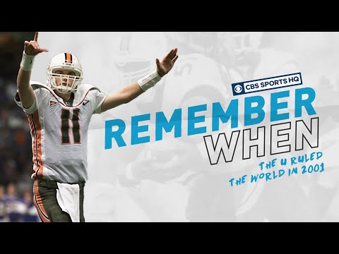 Remember When The U Ruled The World In 2001 | CBS Sports HQ
