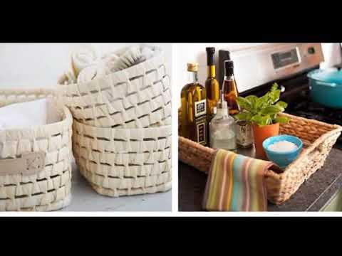 Storage Baskets - Wicker Storage Baskets Extra Large | Best & Easy tricks to Organize