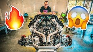 CRAZY HYPER CAR TURBO KIT