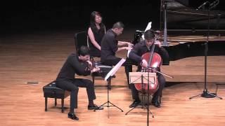Ensemble Ditto plays the Finale of Mendelssohn C minor Piano Trio