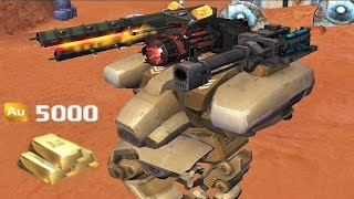 Walking War Robots Purchasing the Fury [5000 Gold] and Gameplay