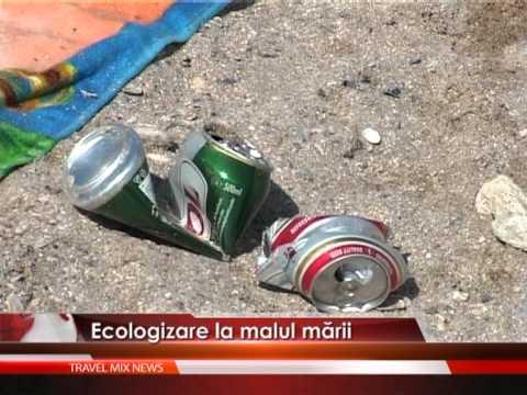Ecologizare la malul mării – VIDEO