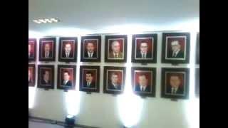 preview picture of video 'Nova Câmara Municipal de Taboão da Serra - Galeria de Presidentes em pinturas'