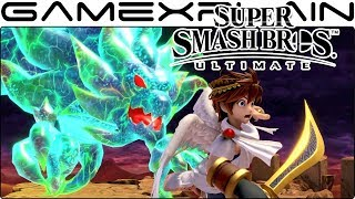 Super Smash Bros. Ultimate Gameplay - Pit, Ridley, Inkling, Ike on Frigate Orpheon
